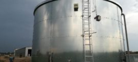 Fire extinguishing water tank B