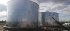 Fire extinguishing water tank PH