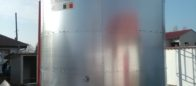 Galvanized steel 100 cbm tanks