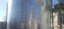 Galvanized steel 150 cbm tanks