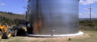 Galvanized steel 300 cbm tanks