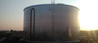 Galvanized steel 500 mc tanks