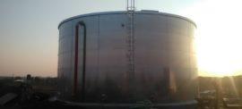 Galvanized steel 500 cbm tanks