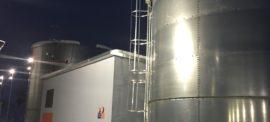 Rezervoare apa incendiu, 2 x 250 mc SB