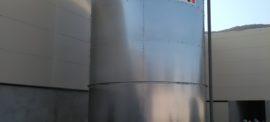 Rezervor apa incendiu 150 mc
