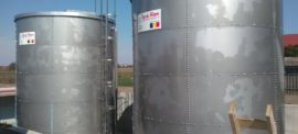 Stainless steel 100 cbm tanks